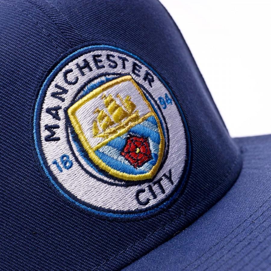3f2619ffebe Cap Nike Manchester City FC Seasonal True 2016-2017 Midnight navy-Field blue  - Football store Fútbol Emotion