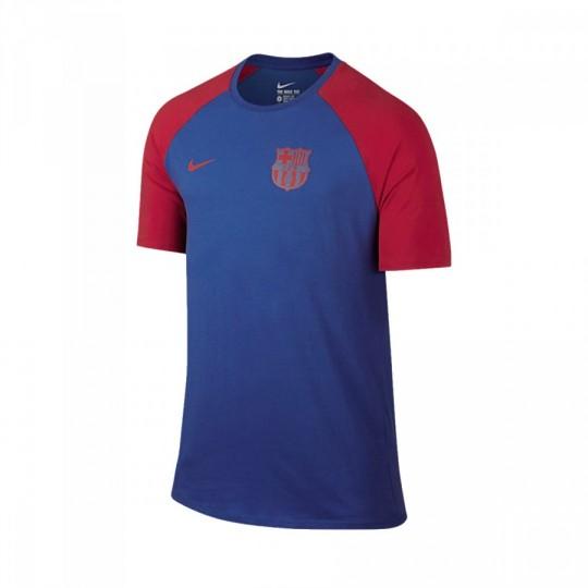 Camiseta  Nike FC Barcelona Match Tee 2016-2017 Game royal-Prime red
