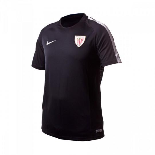 Camiseta  Nike Dry AC Bilbao 2016-2017 Black-Pure platinium