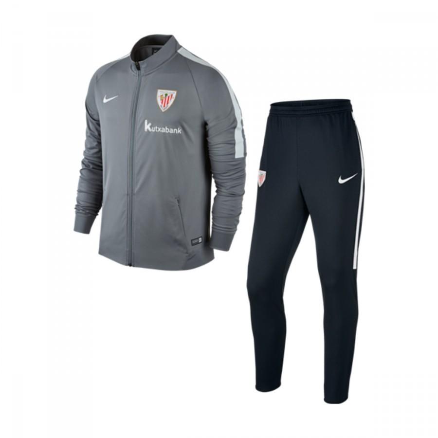 Chándal Nike AC Bilbao 2016-2017 Cool grey-Black-Pure platinium -  Soloporteros es ahora Fútbol Emotion e3da30a7fe996