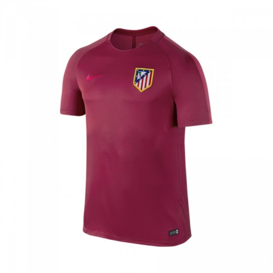 Camiseta  Nike Dry Atlético de Madrid 2016-2017 Noble red-Fucsia flux