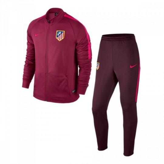 Chándal  Nike Atlético de Madrid 2016-2017 Noble red-Night maroon-Fucsia flux
