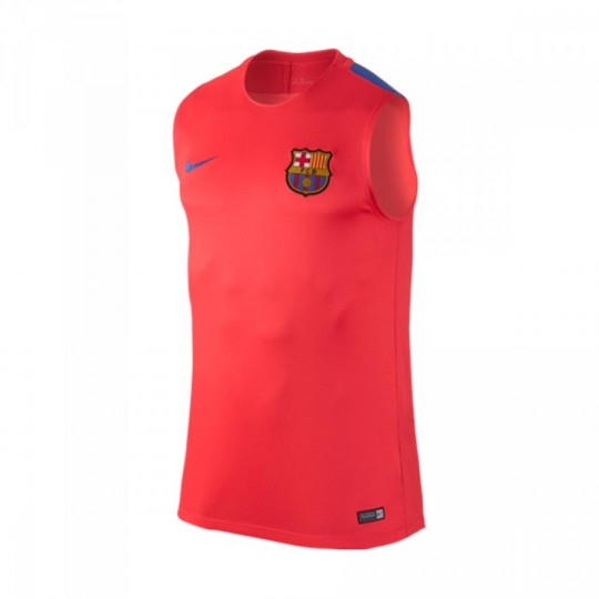 Camiseta  Nike Dry FC Barcelona SS 2016-2017 Bright crimson-Game royal