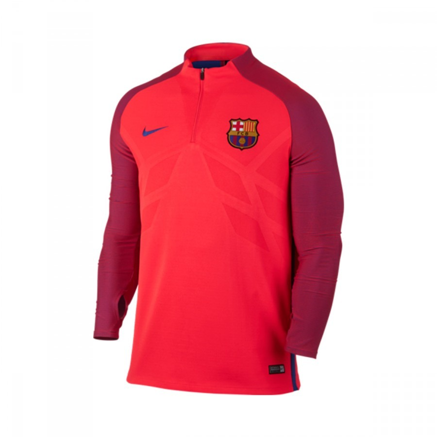 adfc1e1da Nike FC Barcelona Strike 2016-2017 Jersey. Bright crimson-Game royal ...