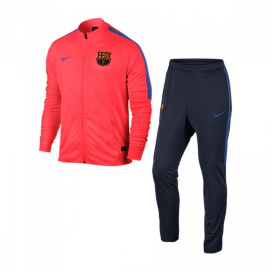 Chándal  Nike FC Barcelona 2016-2017 Bright crimson-Obsidian-Game royal