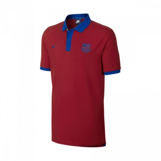 Polo  Nike FC Barcelona 2016-2017 Gym red-Sport royal
