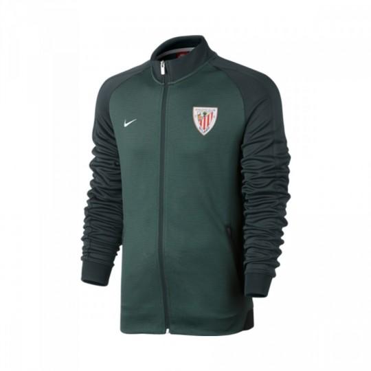 c42be31493 Casaco Nike AC Bilbao Authentic N98 2016-2017 Seaweed-White - Loja de  futebol Fútbol Emotion
