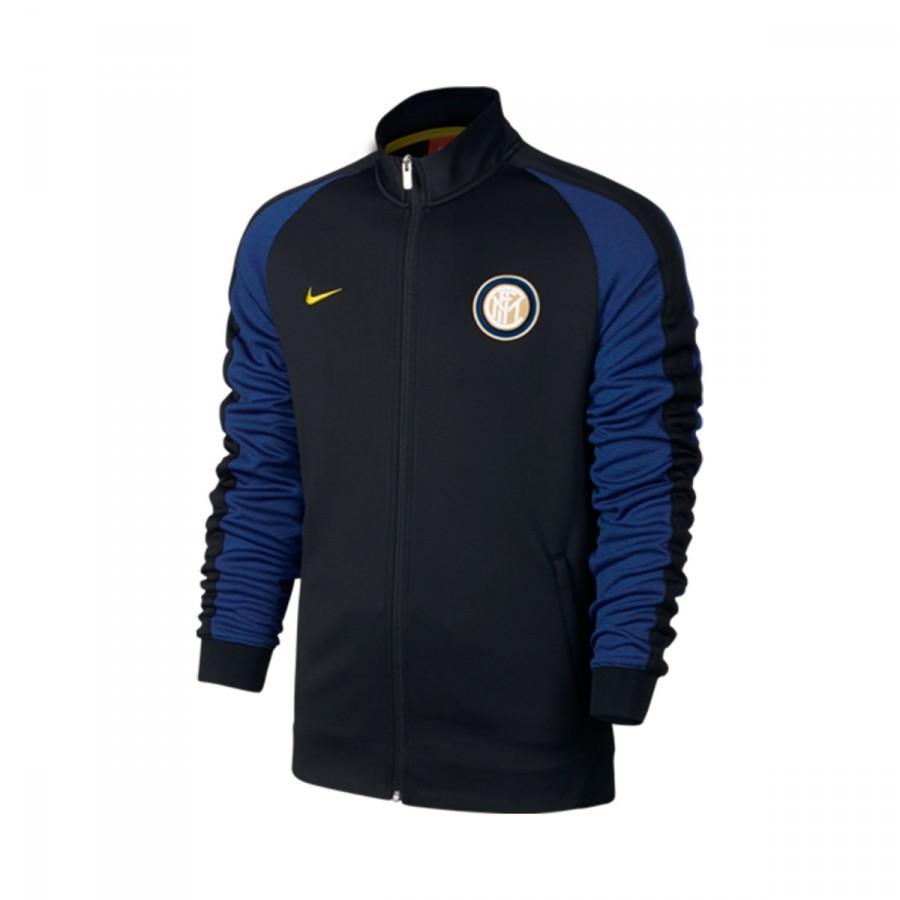 e7e1eb276 Jacket Nike Inter Milan Authentic N98 2016-2017 Black-Deep royal ...