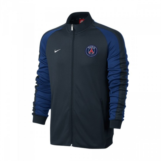 Chaqueta  Nike Paris Saint-Germain N98 2016-2017 Dark Obsidian-White