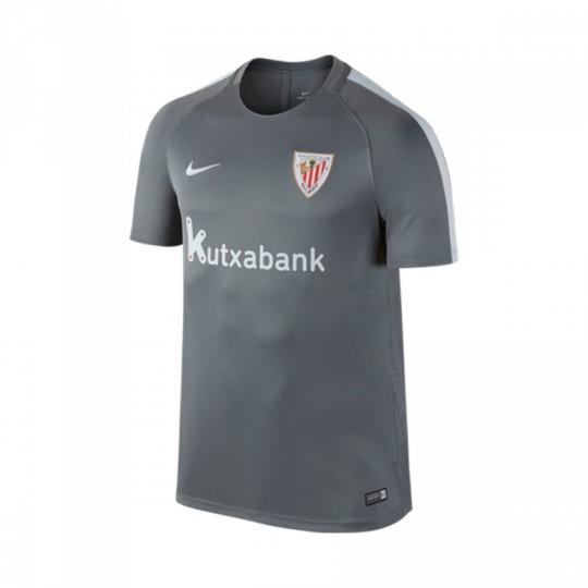 Camiseta  Nike jr Dry AC Bilbao 2016-2017 Cool grey-Pure platinium