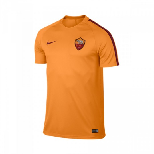 Camiseta  Nike jr AS Roma Training 2016-2017 Kumquat-Team red
