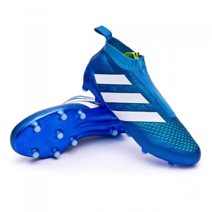 269703a4c60a Football Boots adidas Ace 16+ Purecontrol FG AG Blue - Football ...