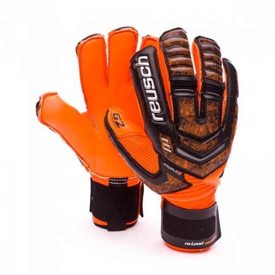 Guanto  Reusch Re:load Supreme G2 Ortho Tec Black-Orange