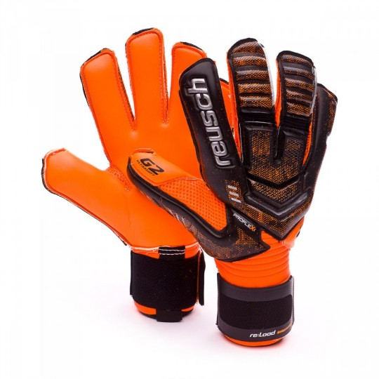 Guanto  Reusch Re:load Supreme G2 Black-Orange