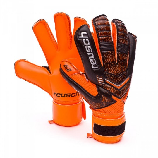 Guanto  Reusch Re:load Prime G2 Black-Orange