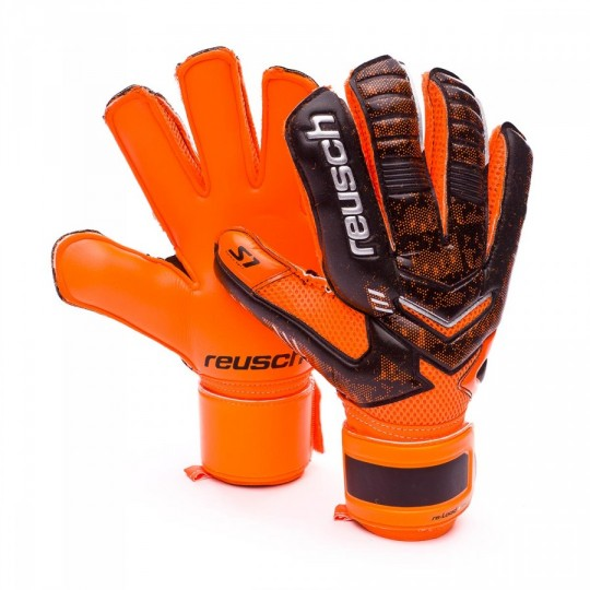 Guanto  Reusch Re:load Prime S1 Black-Orange