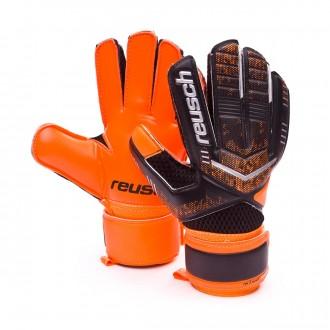 Luvas  Reusch jr Re:load Black-Orange
