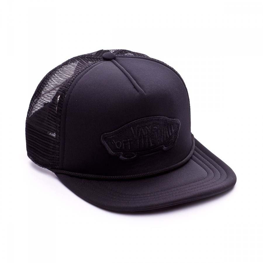 Cap Vans Classic Patch Trucker Black - Football store Fútbol Emotion 4a4382e7af9