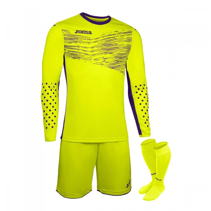 4e8188d2c29 Kit Joma Zamora II m l Fluor yellow - Soloporteros es ahora Fútbol ...