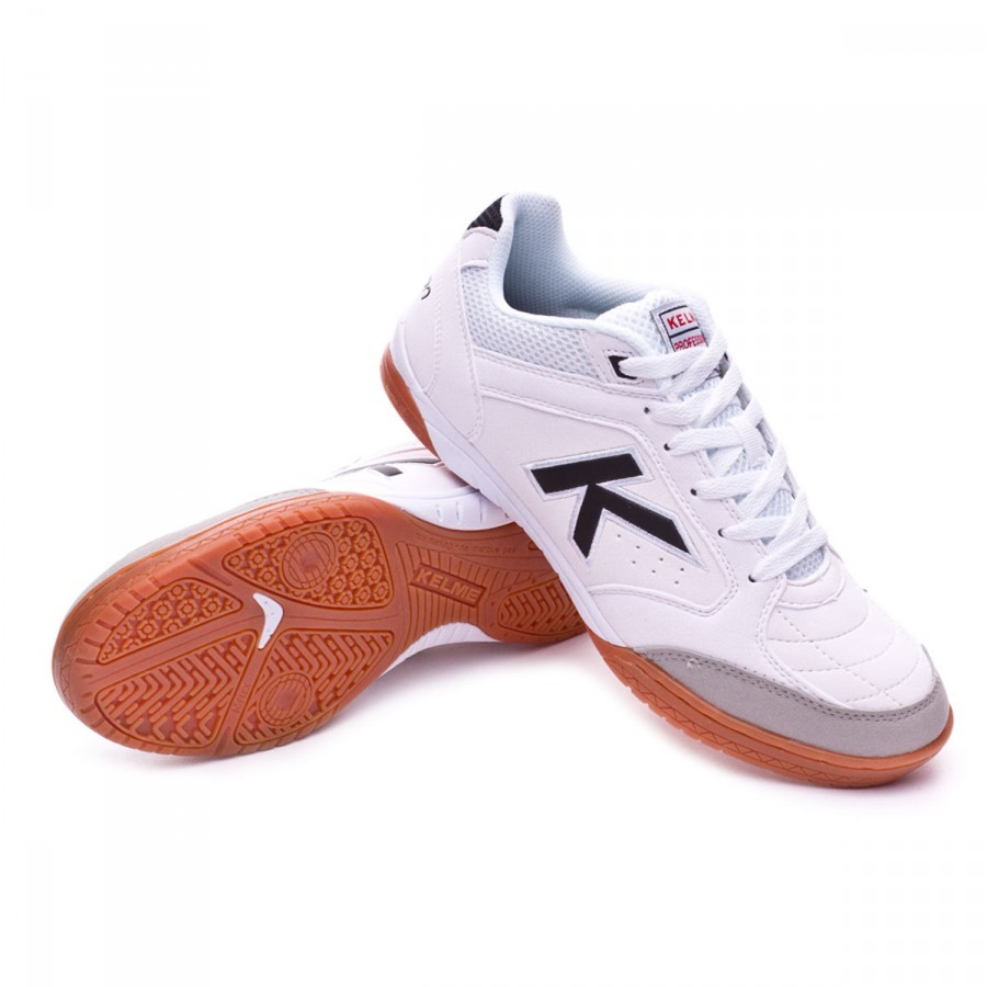 3b720ac9a88 Futsal Boot Kelme Precision LNFS White - Football store Fútbol Emotion