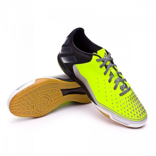 Sapatilha de Futsal  adidas Ace 16.2 CT Solar yellow-Silver metallic-Black