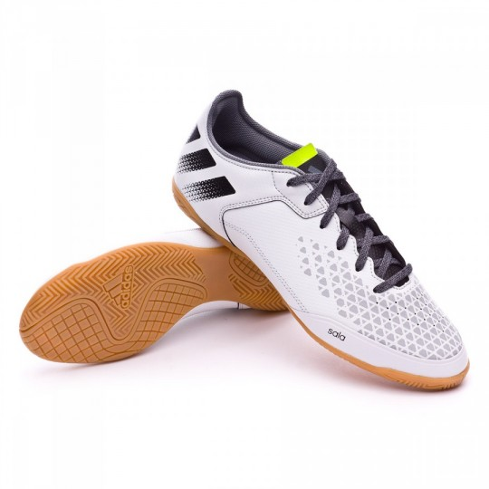 Sapatilha de Futsal  adidas Ace 16.3 CT Crystal White-Black-Solar yellow