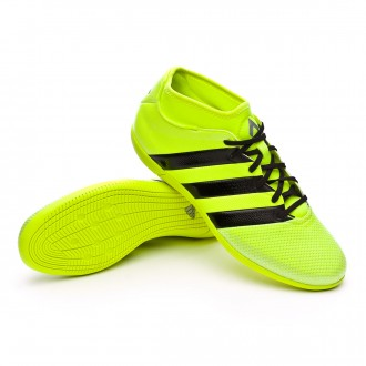 Zapatilla de fútbol sala  adidas Ace 16.3 Primemesh IN Solar yellow-Black-Silver metallic