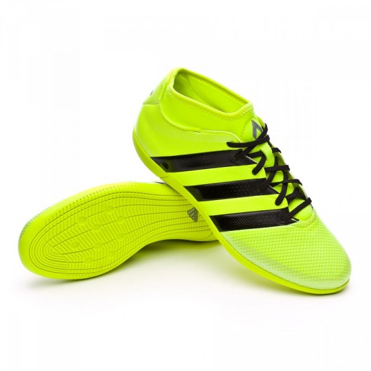 Sapatilha de Futsal  adidas Ace 16.3 Primemesh IN Solar yellow-Black-Silver metallic