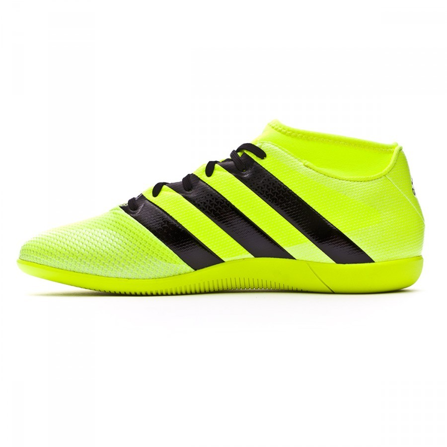 e775cab85e Sapatilha de Futsal adidas Ace 16.3 Primemesh IN Solar yellow-Black-Silver  metallic - Loja de futebol Fútbol Emotion