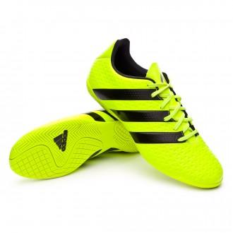 Zapatilla de fútbol sala  adidas jr Ace 16.4 IN Solar yellow-Black-Silver metallic