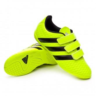 Zapatilla de fútbol sala  adidas jr Ace 16.4 IN (V) Solar yellow-Black-Silver metallic