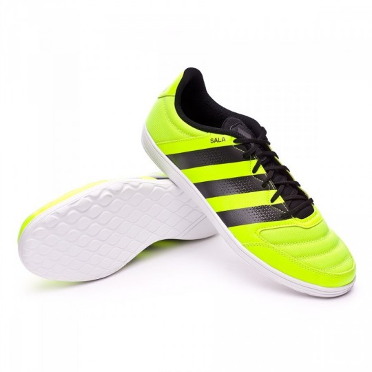 Sapatilha de Futsal  adidas jr Ace 16.4 ST Solar yellow-Black-Iron metallic