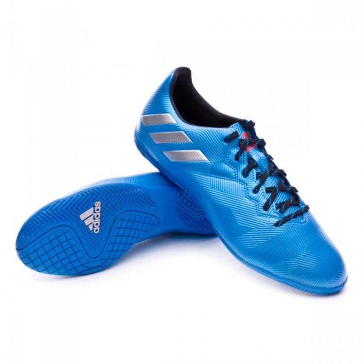 Black Shock Blue 16 De Adidas Tienda Matte Messi In 4 Tenis Silver zXSq7w