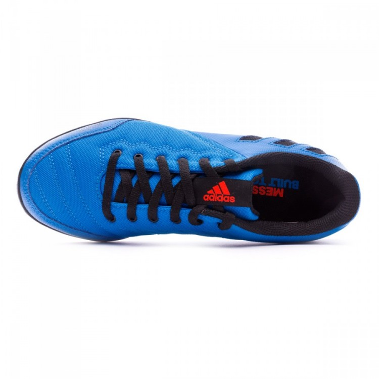 Zapatilla Messi 16.4 ST Niño Shock blue Black Solar red