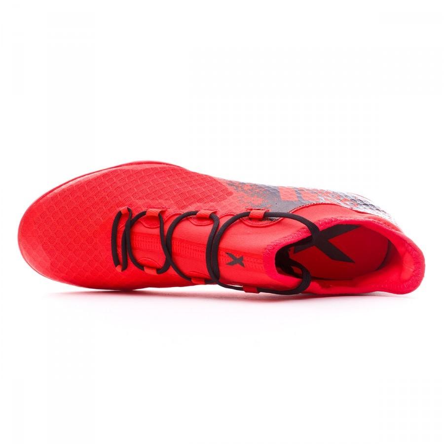e9aa6adba Futsal Boot adidas X 16.2 CT Solar red-Black - Football store Fútbol Emotion