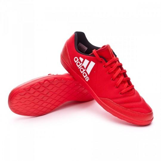 Sapatilha de Futsal  adidas X 16.4 ST Red-White-Power red