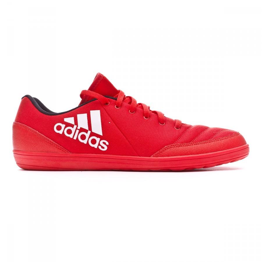 ddf3356b7baa Futsal Boot adidas X 16.4 ST Red-White-Power red - Football store Fútbol  Emotion
