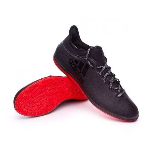 Sapatilha de Futsal  adidas X 16.3 IN Black