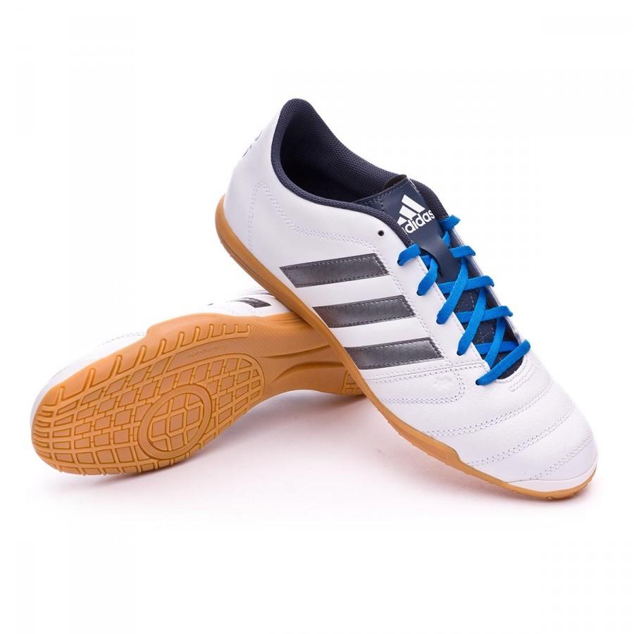 e5ce2e1dd8d Futsal Boot adidas Gloro 16.2 IN White-Night metallic-Utility blue ...