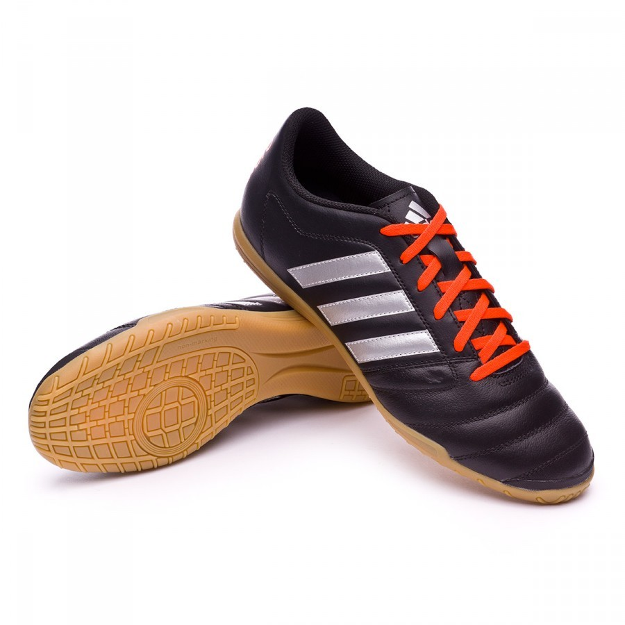 d00657bcb4fc8 Futsal Boot adidas Gloro 16.2 IN Black-Silver metallic-Solar red ...
