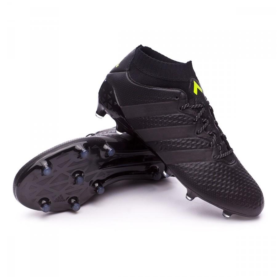 1828d37ccb64 Football Boots adidas Ace 16.1 Primeknit FG AG Core Black - Football ...