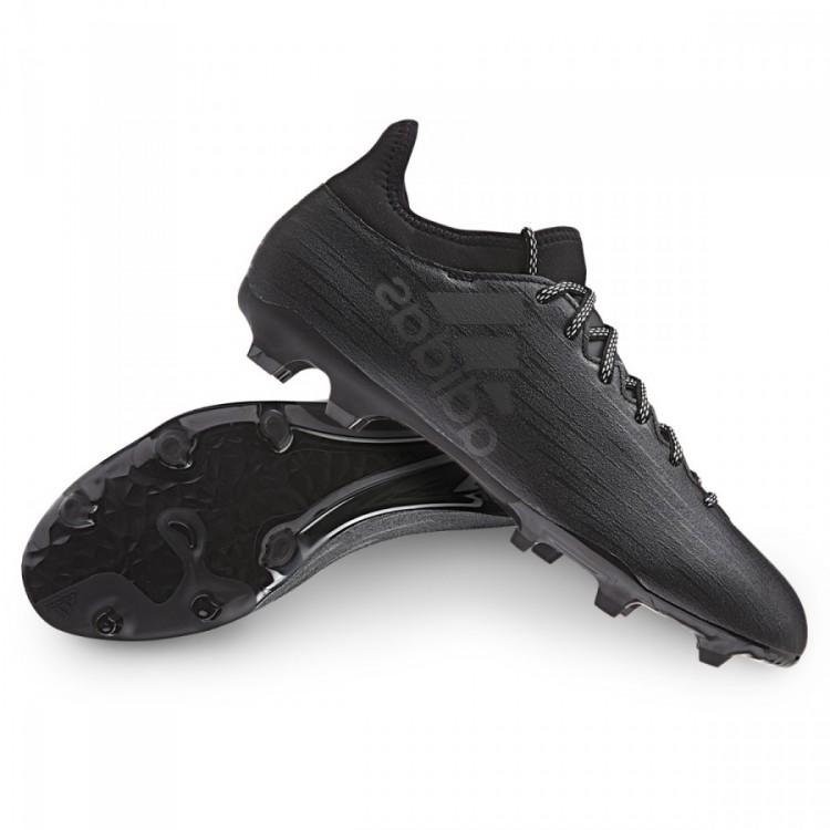 adidas X 16.3 FGAG Core BlackDark Grey