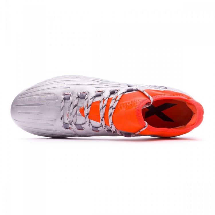 on sale 2c524 8c227 Bota X 16.2 FG Silver metallic-Black-Solar red