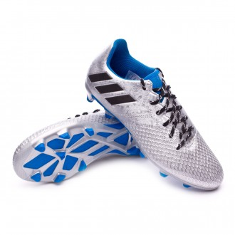 Chuteira  adidas Jr Messi 16.3 FG Silver metallic-Black-Shock blue