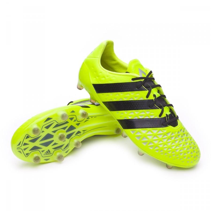 Chaussure Solar Ace De Black Fg Adidas Silver Football 16 Yellow 1 r61Sqr0x