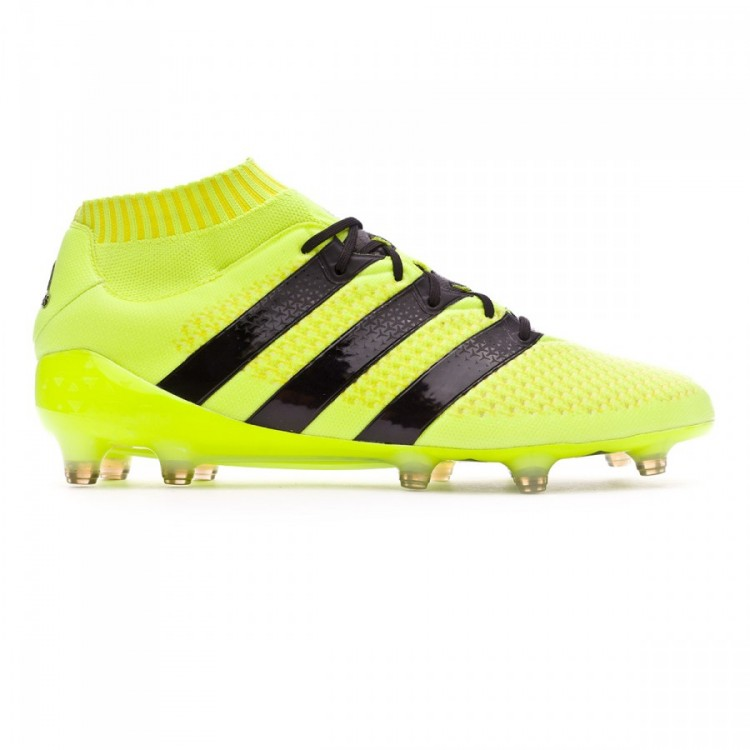 9cabe156cef2 Football Boots adidas Ace 16.1 Primeknit FG Solar yellow-Black ...