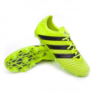 Bota  adidas Ace 16.2 FG Solar yellow-Black-Silver metallic