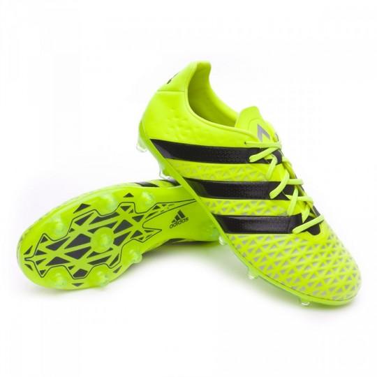 Bota  adidas Ace 16.2 FG Solar yellow-Black-Silver metallic