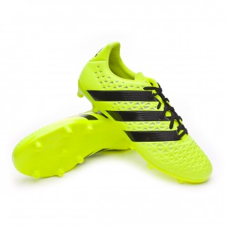 Bota  adidas Ace 16.3 FG Solar yellow-Black-Silver metallic