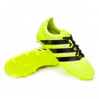 Bota  adidas jr Ace 16.3 FG Solar yellow-Black-Silver metallic